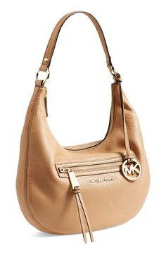 MICHAEL Michael Kors 'Medium Rhea' Zip Detail Shoulder Bag available at #Nordstrom