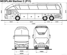 Blueprints > Buses > Neoplan > Neoplan Starliner C Bus Art, Maserati Car, Bus Terminal, Bus Coach, Mechanical Design, Unique Cars, Car Drawings, Busses, Suv Cars