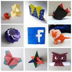 Origami from the Us National Origami convention 2013