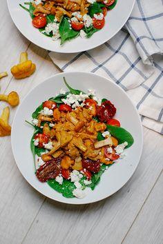 Eierschwammerl-Salat - Berries & Passion