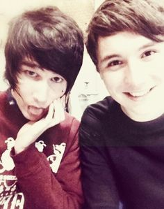 Dan and his little brother