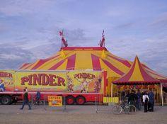 l'histoire du cirque pinder