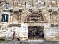 Old city gate. Split. Croatia