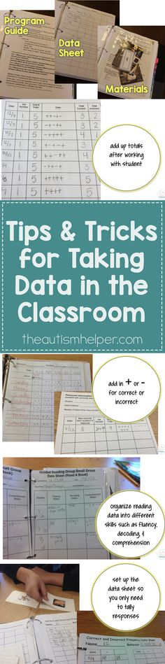 Now that you've discovered why data is SO crucial & gone through all the hard work of setting up your systems, it's time to start collecting! I'm sharing some of my favorite tips & tricks to get the data collecting party started! :D From theautismhelper.com