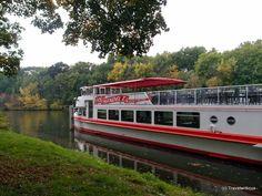 MS Händel II, a ship for river cruises on the Saale river in Halle, Germany Saxony Anhalt, Rhineland Palatinate, Halle, Lower Saxony, North Rhine Westphalia, Bavaria, Cruises, Travel Destinations, Germany