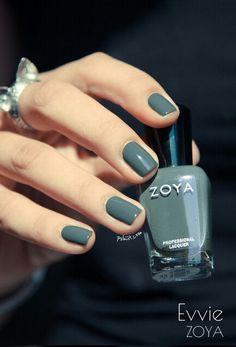 Zoya:  Evvie nail polish