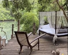 Outdoor Furniture, Outdoor Decor, Home And Garden, Gardens, Bed, House, Home Decor, Decoration Home, Stream Bed