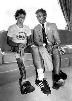 Terry Fox and Bobby Orr