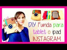 DIY: Cómo hacer una funda de tablet - YouTube