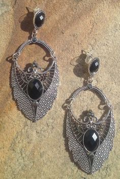 brinco, prata, acessórios, pedras, bijuteria - Deoli Atelier
