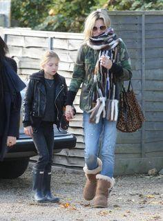 Kate Moss & Lila