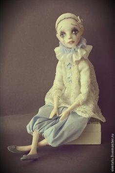 Коллекционные куклы ручной работы: Пьерошечка. Handmade.