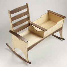 Everyone needs a creative outlet and you can use your woodworking skills to let your imagination run wild. By using DIY wood projects, you can make new. Woodworking Projects For Kids, Diy Wood Projects, Woodworking Plans, Wood Crafts, Baby Furniture, Wood Furniture, Furniture Design, Diy Holz, Wood Toys