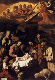 Francisco de Zurbaran, Adoration of the Shepherds