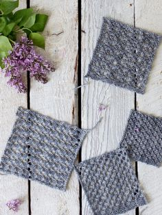 easy knit lace patterns