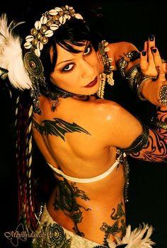 Morgana, Fusion Tribal dancer.