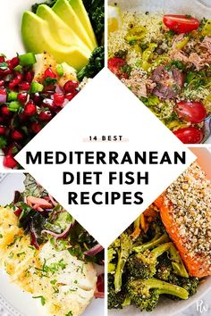 14 Fish Recipes That Are on the Mediterranean Diet purewow mediterranean diet dinner recipe seafood fish cooking food healthy 43276846407936678 Healthy Cooking, Healthy Eating, Healthy Recipes, Cooking Food, Cooking Recipes, Dinner Healthy, Healthy Food, Seafood Diet, Healthiest Seafood