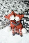 Mystique the Fox - pdf pattern