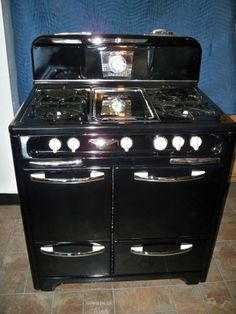 Kenmore Country Kitchen Stove Antique 1940s Kenmore Iron