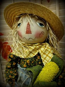 Autumn Scarecrow Available on Ebay-now sold