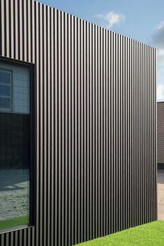 Wood Cladding Exterior, House Cladding, Timber Cladding, Wooden Facade, Metal Facade, Black House Exterior, Facade Design, Facade Architecture, Building A House