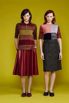 Creatures of the Wind | Pre-Fall 2014: I LOVE THE COLOR, THE SILHOUETTES THE GIRLS FACES THE PATCHWORK EVERYTHING