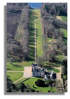 Brodie Castle in the highlands of Scotland  My maternal grandmother was born Helen Mae Brodie of the Scottish Clan Brodie.