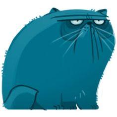 Иллюстрации кошек DAILY CAT DRAWINGS
