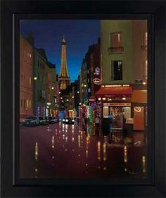 Landscape/ Cityscape :: Neil Dawson :: Parisienne Twilight - Artisan Galleries