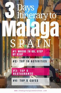 WHTI Compliant Journey Files And Passport Alterations After June Of 2009 Amazing Guide And Tips - Malaga: The Flawless Spanish City That Has It All City Guide Top Travel Destinations, Europe Travel Guide, Spain Travel, Travel Guides, Ibiza, Malaga City, Madrid, Travel Cards, Barcelona