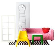 Husets dockhusmöbler- IKEA höst 2013