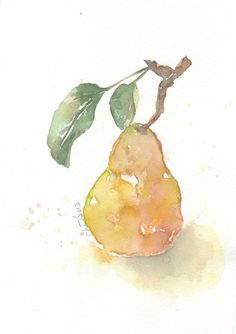 Fruit fruit print giclee art watercolor painting by ChiFungW, $16.00 Please visit my website www.artreproductionservices.com for details.
