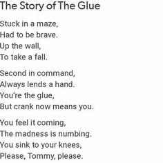 My heart. It broke.