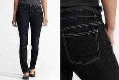 Organic skinny jeans that look and do good. #EcoFashion @EILEEN FISHER @eco-chic design