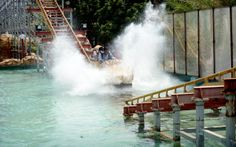 WATER COASTER :  A bigger splash, cool down on the water ride.