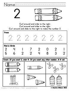Little Learning Stars: Numbers 1 - 10 FREEBIE!