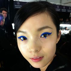 Looks To Try: Conceptual Eyeliner - For the more adventurous makeup aesthetes, here are 27 vivid ways to update your usual cat eye. Pair with a minimal outfit and an almost-bare face to get an exotic, avant-garde look without veering into Lady Gaga costume territory.