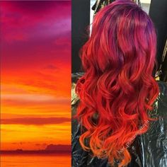Sunset Hair! LOVE!!!