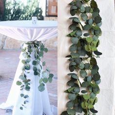 Green Wedding Decorations, Garland Wedding, Wedding Table Centerpieces, Wedding Arch Greenery, Rustic Wedding Flowers, Color Themes For Wedding, Wedding Entrance Table, Wedding Ideas, April Wedding Colors