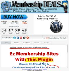 Get 9 WordPress Membership Sites for ONLY $10 Bucks, WoW! These PREMIUM Quality Membership Websites come with UNRESTRICTED PLR Rights...Who Does That?