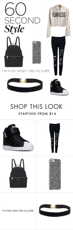 """Flawless"" by kendra-lucie ❤ liked on Polyvore featuring adidas, Henri Bendel, men's fashion, menswear, DRAKE, views and 60secondstyle"