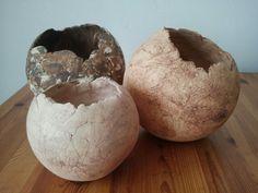Open bollen,in verschillende maten.gemaakt door Ria Jeurissen