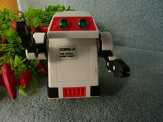 VIntage 1970s TOMY FLIPBOT Robot by TeacupsNMore on Etsy