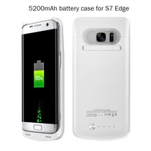 5200mah Power Bank Backup Cases For Samsung Galaxy S7, Portable Fast Charging Battery Charger Case For Samsung Galaxy S7
