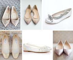 Bez obcasa - Idealne buty ślubne dla Panny Młodej