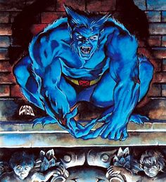 Beast 90's costume please — Marvel Heroes 2016