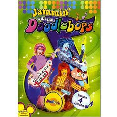 Jammin' With The  Doodlebops (With Audio CD) (Full Frame)