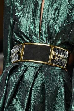 Embellished waist belts were all over the fall '13 runways