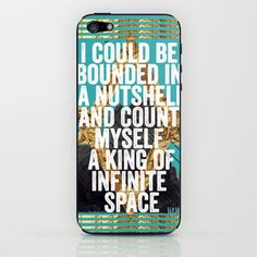 Hamlet Quote iPhone & iPod Skin by Kitch - $15.00
