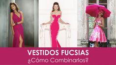 Vestidos en fucsia: ¿Cómo combinarlos? #vestidosdefiesta #tendencias #moda #fucsia #estilo #fashion